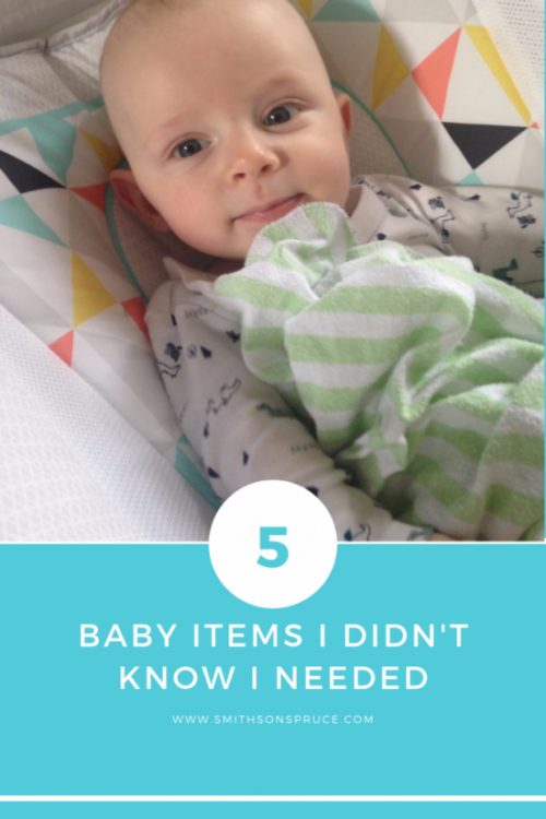 The 5 Baby Items I Didn't Know I Needed