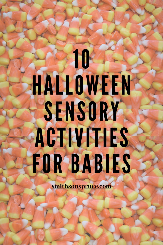 10 Halloween Sensory Activities for Babies