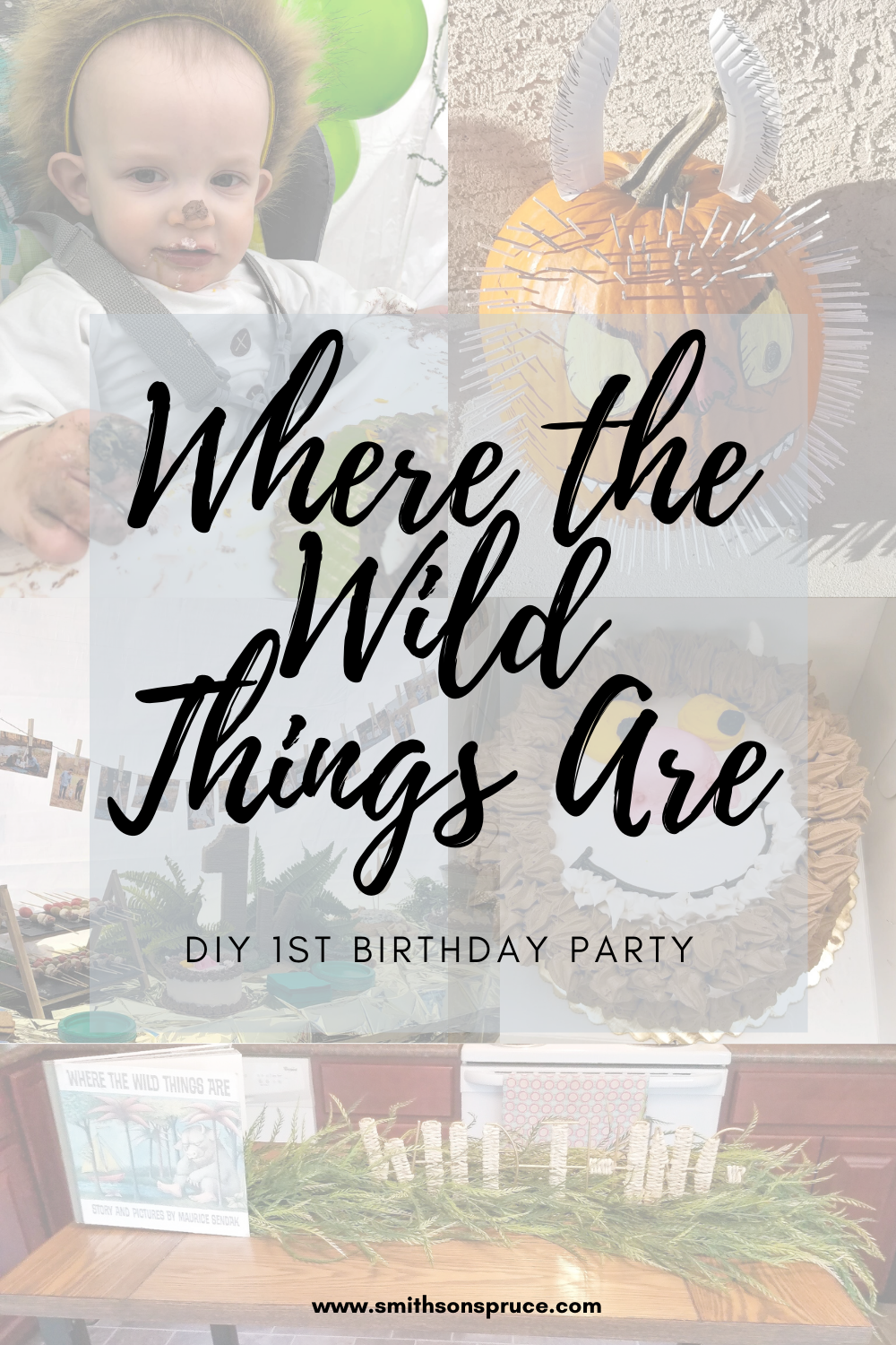 Where the Wild Things Are 1st Birthday