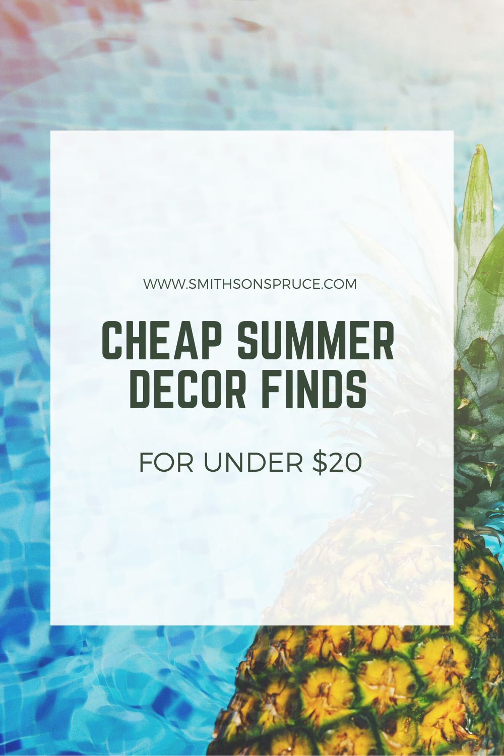 Cute Summer Decor Finds for Under $20!